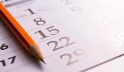 event calendar sidebar